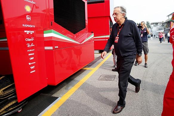 Sergio Marchionne Ferrari F1