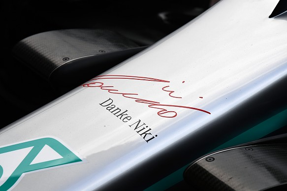 Mercedes nose Monaco Grand Prix 2019 Lauda
