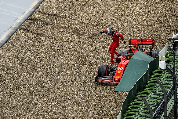Charles Leclerc Ferrari German Grand Prix 2019