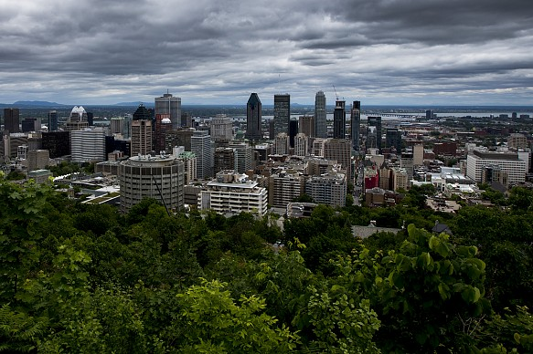 Montreal landscape