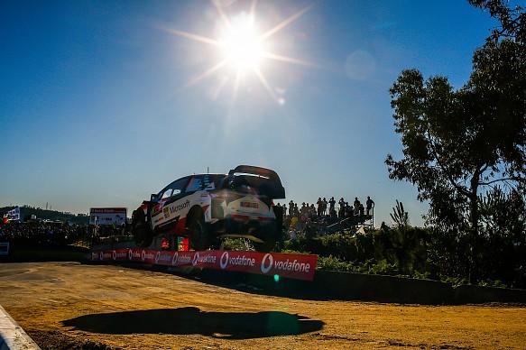 Ott Tanak WRC Portugal 2019