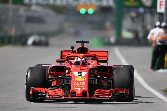 Sebastian Vettel Ferrari Canadian Grand Prix 2018