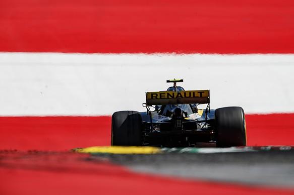 Carlos Sainz Jr Renault Austrian GP 2018