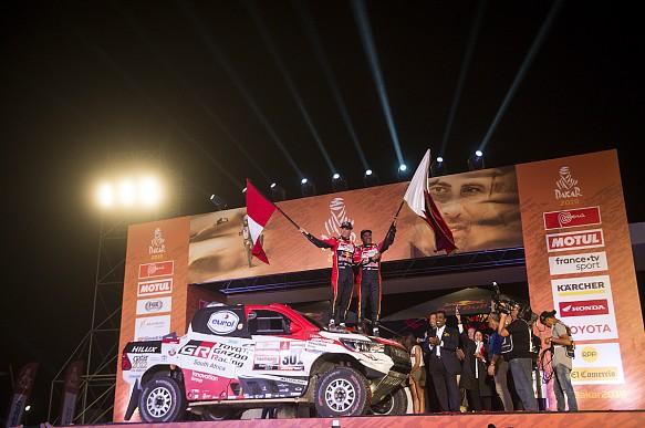 Nasser Al-Attiyah wins Dakar 2019