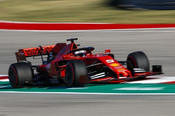 Sebastian Vettel Ferrari US Grand Prix 2019