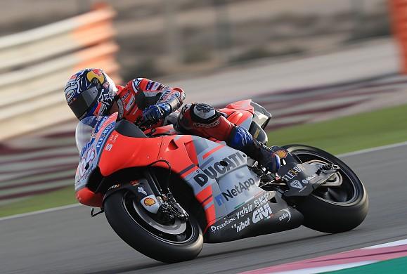 Andrea Dovizioso Ducati Losail MotoGP 2018