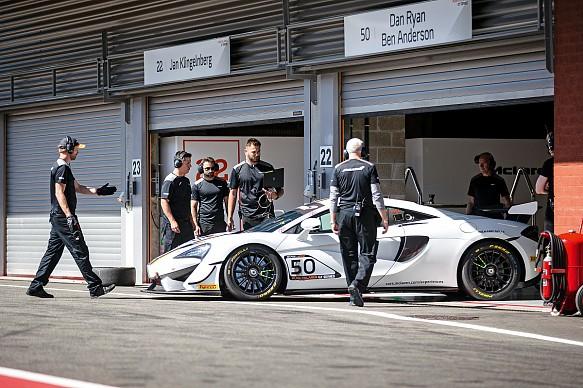 McLaren Pure GT Series Spa 2019