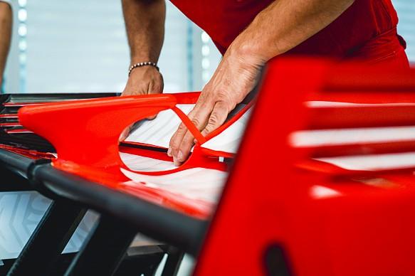 New Ferrari livery