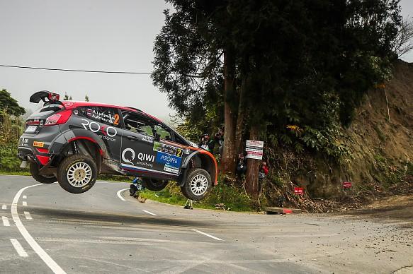 Alexey Lukyanuk ERC Rally Azores 2018
