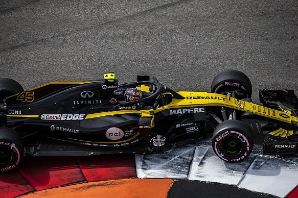 Artem Markelov Renault Russian Grand Prix 2018