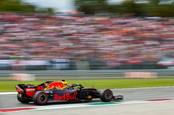 Max Verstappen Red Bull Italian Grand Prix 2018