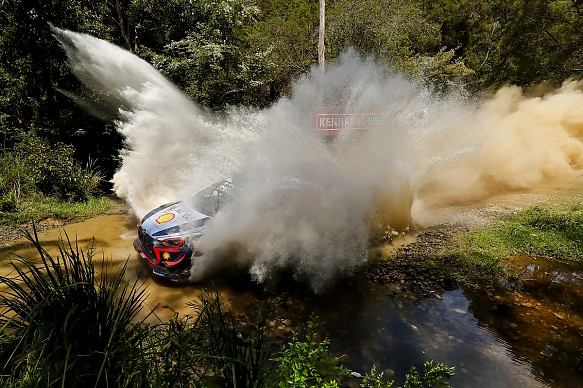 Thierry Neuville Hyundai WRC Rally Australia 2018
