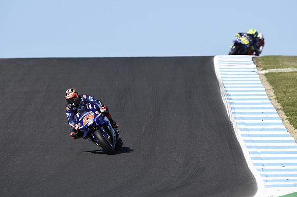 Maverick VInales Yamaha MotoGP Phillip Island 2018