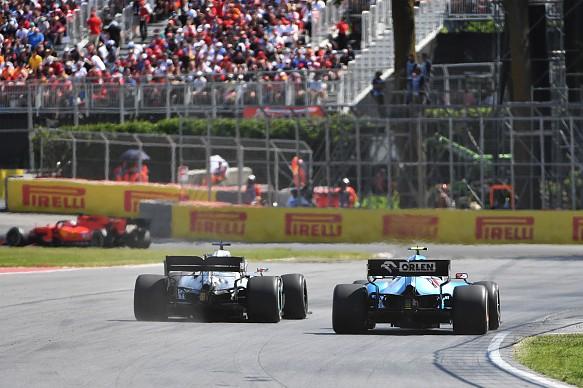 Hamilton Kubica Mercedes Williams Canada F1 2019
