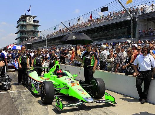 James Hinchcliffe Indy 500 2012