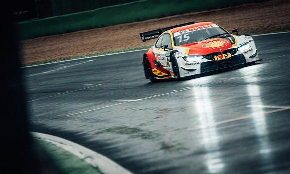 Augusto Farfus BMW DTM testing