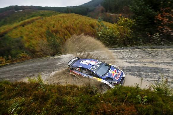 Sebastien Ogier M-Sport Ford WRC GB 2017