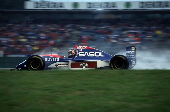 Thierry Boutsen Jordan 1993 German Grand Prix