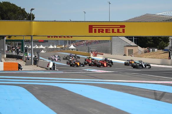 French Grand Prix 2019 start