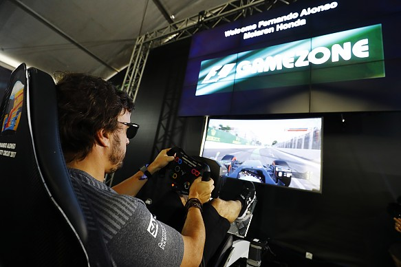 Fernando Alonso F1 video game