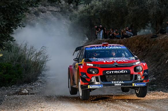 Ogier Citroen WRC 2019