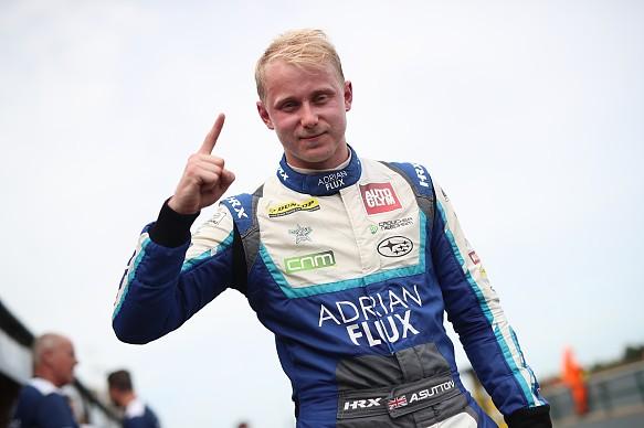 Ash Sutton takes Croft BTCC pole 2018