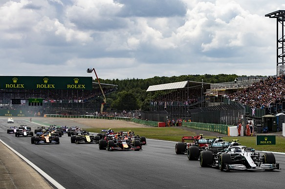 British Grand Prix 2019 start