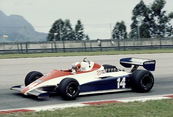 Marc Surer Ensign F1 1981