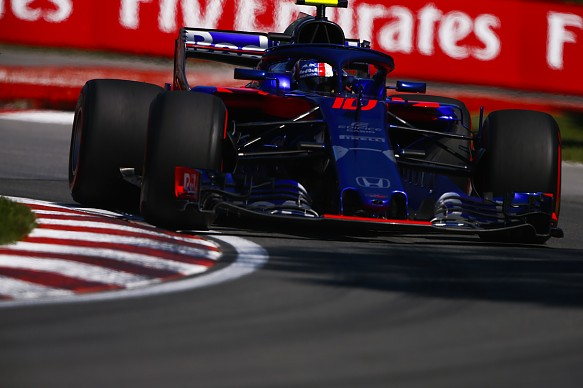 Pierre Gasly Toro Rosso Canadian Grand Prix 2018