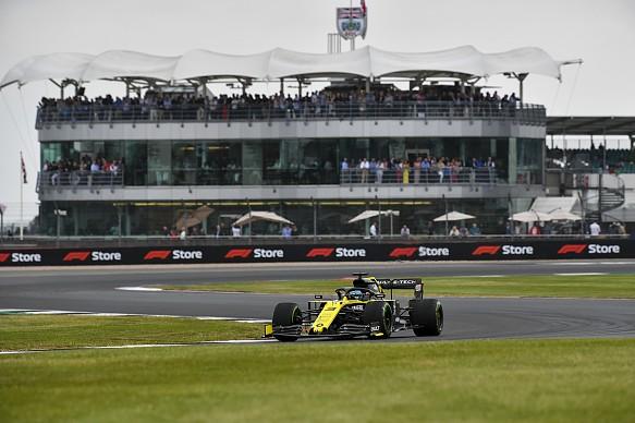 Ricciardo Renault F1 2019 British GP