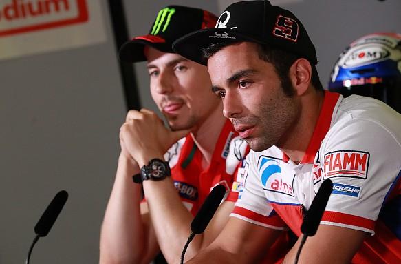 Jorge Lorenzo Danilo Petrucci German GP MotoGP 2018