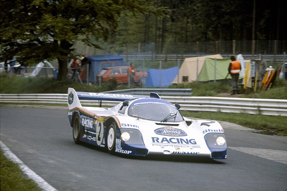 Stefan Bellof Porsche 962 Nordschleife 1983