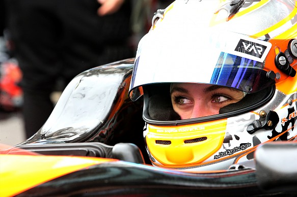 Sophia Florsch Macau GP 2018