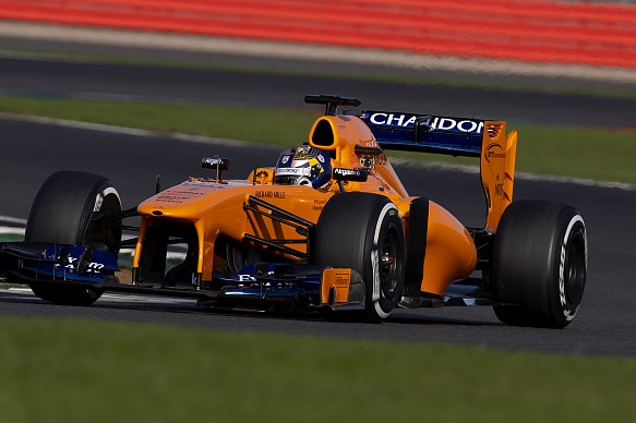 Dan Ticktum McLaren F1 test MABA 2018