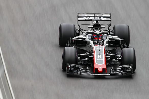 Romain Grosjean Baku 2018
