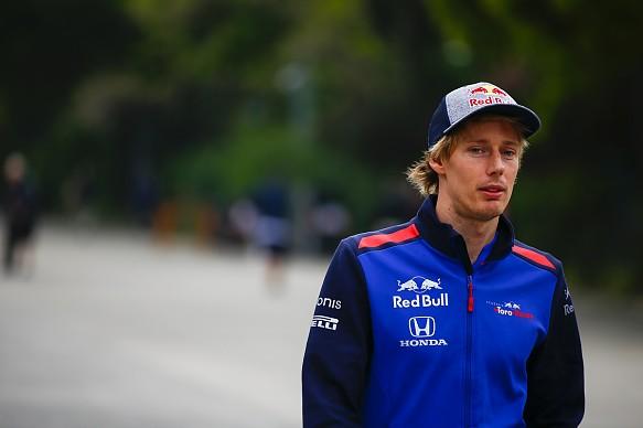Brendon Hartley Toro Rosso F1 2018