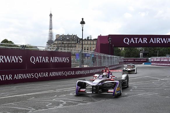 Alex Lynn DS Virgin Formula E Paris 2018