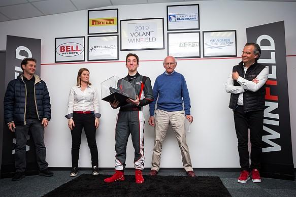 Jules Mettetal Volant Winfield winner 2019