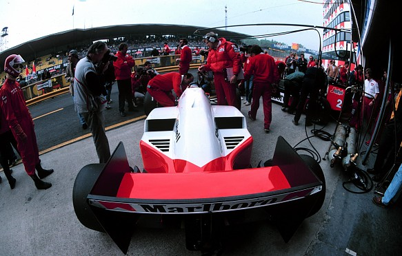 Tim Wright McLaren 1986 Italian Grand Prix
