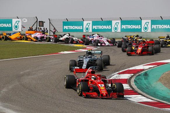Chinese GP 2018