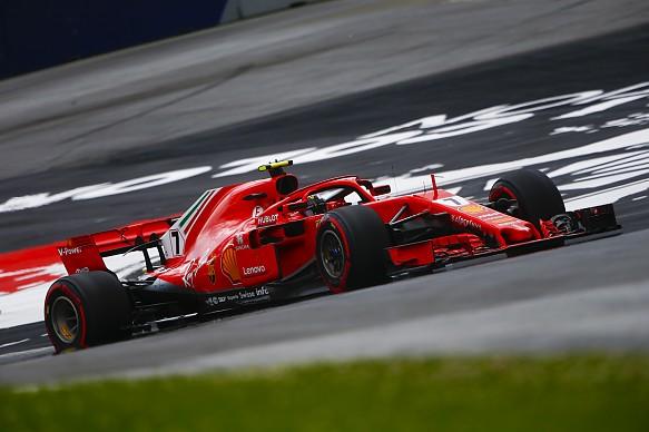 Kimi Raikkonen Ferrari Austrian Grand Prix 2018