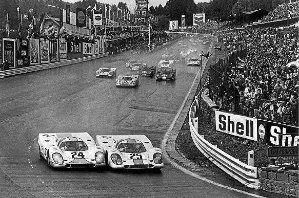1970 Spa 1000km start Porsche 917
