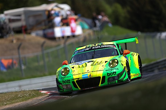 Fred Makowiecki Nurburgring 24 Hours 2018