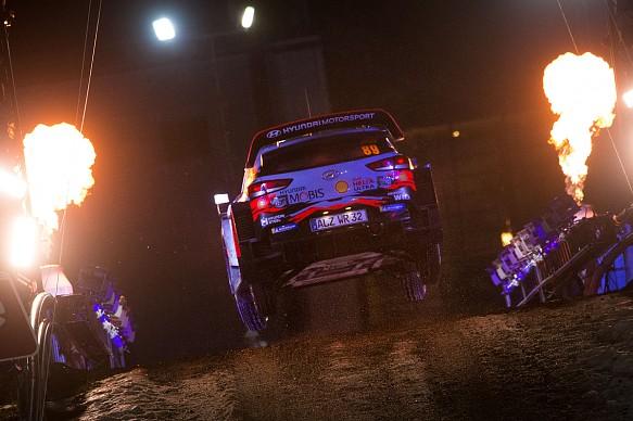 Andreas Mikkelsen Hyundai WRC Rally Sweden 2019