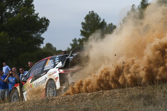 Toyota WRC Spain 2019