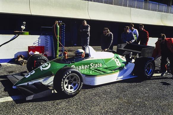 Porsche Indycar 1988 testing