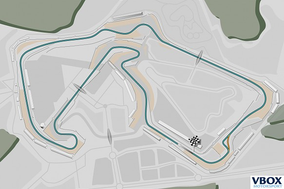Silverstone Performance track map