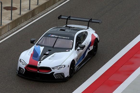 BMW GTE testing