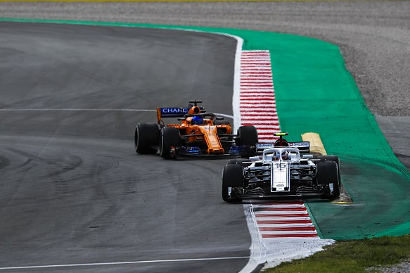 Charles Leclerc learned twice as much battling Fernando