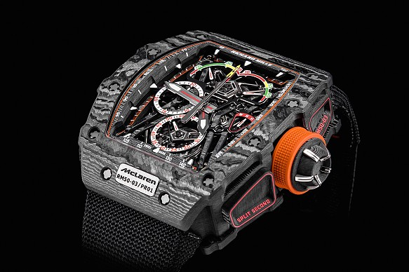 Richard Mille McLaren watch